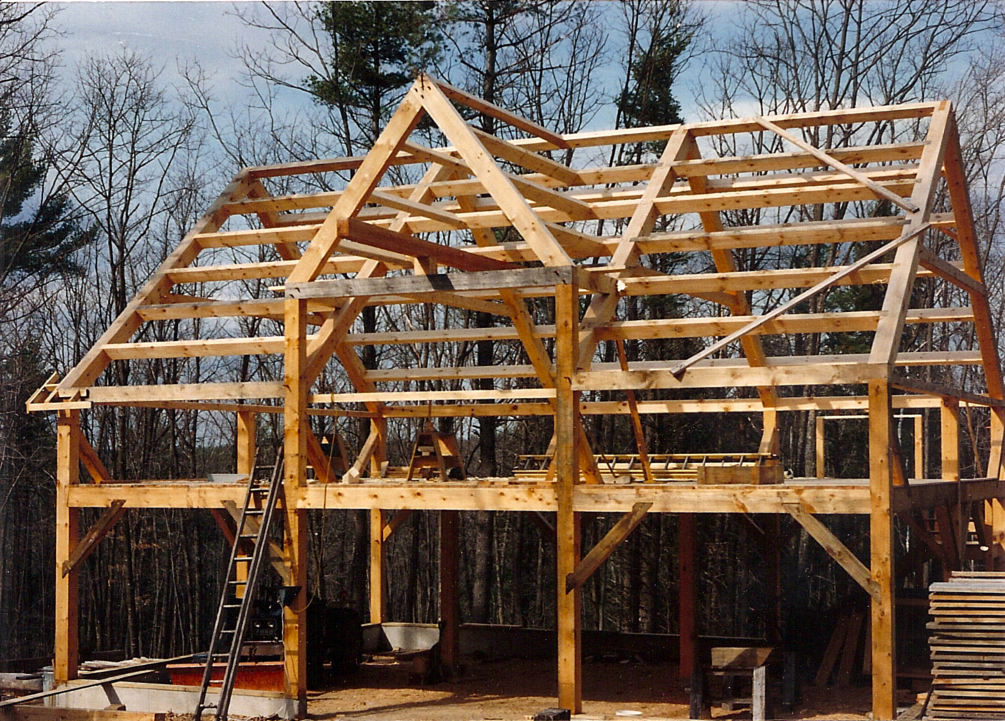 Murray Barn Northwood Timberframe
